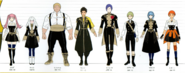 FE3H Golden Deer Height Chart