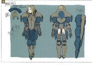General femenino concepto FE14