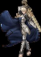 Artwork completo Corrin mujer Fire Emblem Warriors