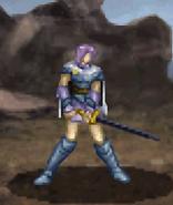Estelle battle (dismounted Paladin)