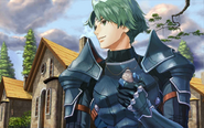 Alm holding amulet