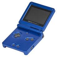 Game Boy Advance-SP Mk1 Blue