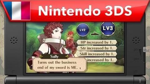 Fire Emblem Awakening - Progression des personnages (Nintendo 3DS)