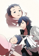 Chrom and Baby Lucina