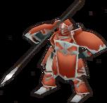 FE10 Zaitan Armor Lance Sprite