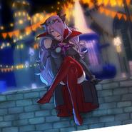 Artwork CG de Camilla del DLC Estival de Nohr - Fire Emblem Fates
