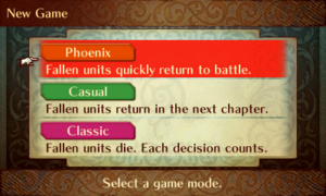 FE14 Game Mode Selection Screen.png