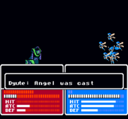 Dyute casting Angel