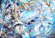 Shigure R+ y Azura R+ arte unido