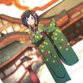 Artwork CG de Midori del DLC Estival de Hoshido - Fire Emblem Fates