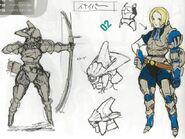 Concept Archer d'Elite femme