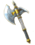 Silver Axe (TS Artwork)