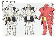 3H Male A Knight concept