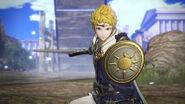 Captura de Rowan en el campo de batalla - Fire Emblem Warriors