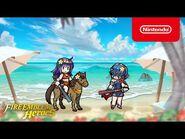 Fire Emblem Heroes - Harmonized Heroes, Mia and Marth