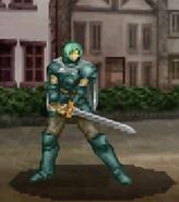 Arkis battle (Commandoknight foot)