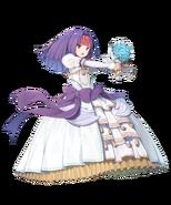FEH Sanaki novia atacando