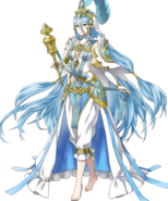 Artwork de Azura, Cantante de Valla (1) - Fire Emblem Heroes