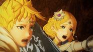 Captura de Rowan y Lianna - Fire Emblem Warriors