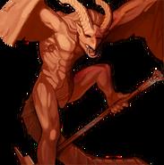 Garuda portrait