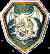 Escudo dragón ilustración fe03
