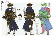 3H Male Sniper concept