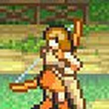 Dorothy as an Archer.JPG