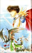 25 Thracia Umemura Book 2 pg 1 Art