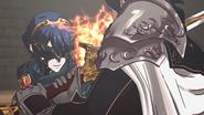 Lucina fighting Chrom cutscene 1