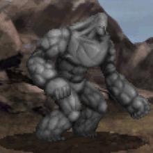 Stone Golem battle.png