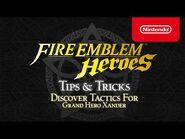 Fire Emblem Heroes - Tips & Tricks- Discover tactics for Grand Hero Xander