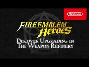 Fire Emblem Heroes - Tips & Tricks- Discover Upgrading in the Weapon Refinery