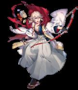 Artwork Corrin Héroe tradicional con poca vida - Fire Emblem Heroes
