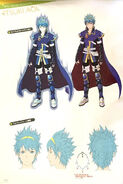 TMS concept of Itsuki in his Marth form, 01