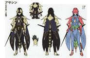 3H Female Assassin concept