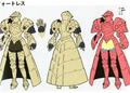 3H Female F Knight concept