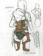 Señor wyvern femenino concepto 2 FE13