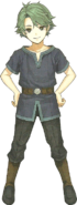 Young Alm Full Portrait