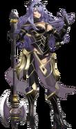 Artwork completo Camilla Fire Emblem Warriors