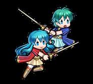 Eirika Twin Refulgence Heroes sprite