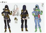 3H Female Archer concept