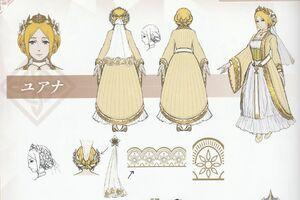 Warriors Yelena Concept Art