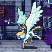 Farina as a Pegasus Knight