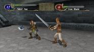 Ss fe10 myrmidon wielding iron blade