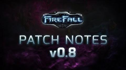 Firefall Update on Patch v. 0