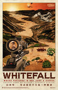 Firefly Whitefall Travel Poster 11x17