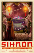 Firefly Sihnon Travel Poster (WuXing Travel)