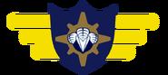 Jupiter side badge on stage