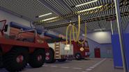 Fire station Garage overnight