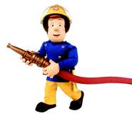 Sam holding hose (Series 5)